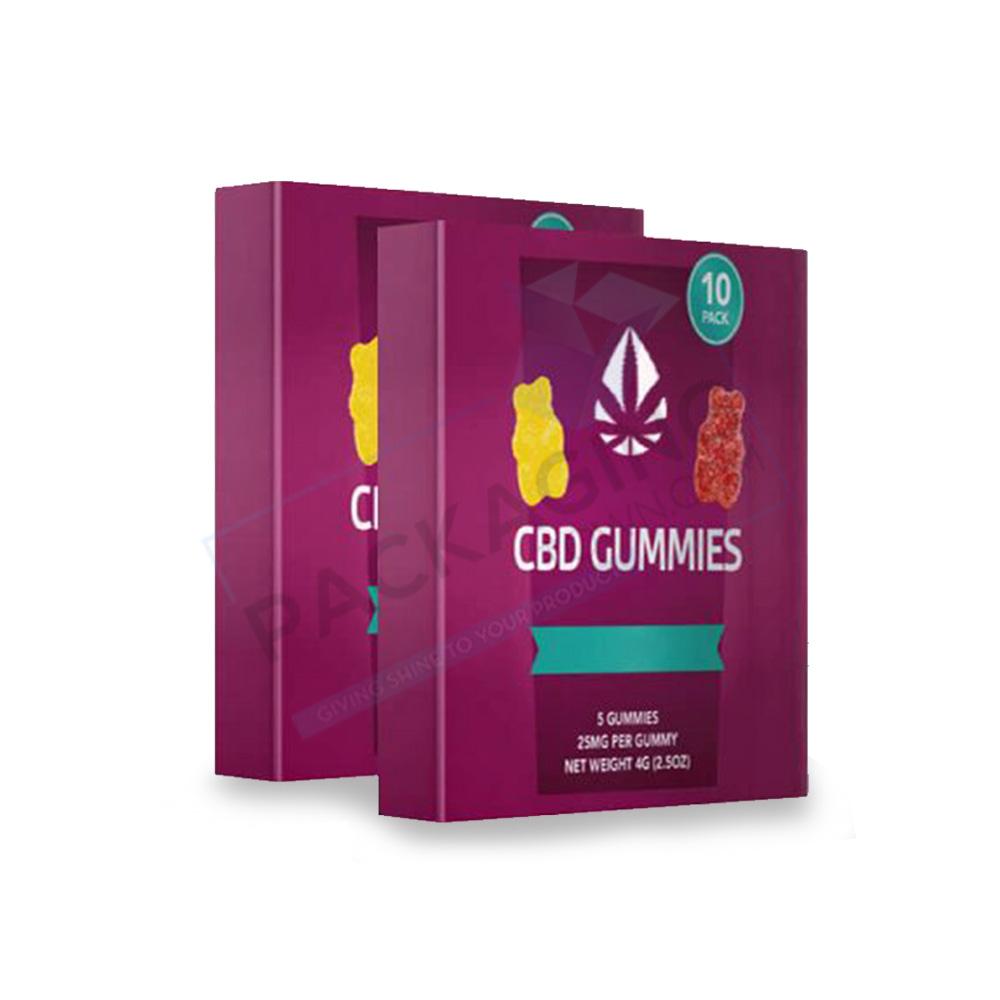 CBD Gummies Boxes | Custom Gummies Boxes | Gummies Boxes Wholesale