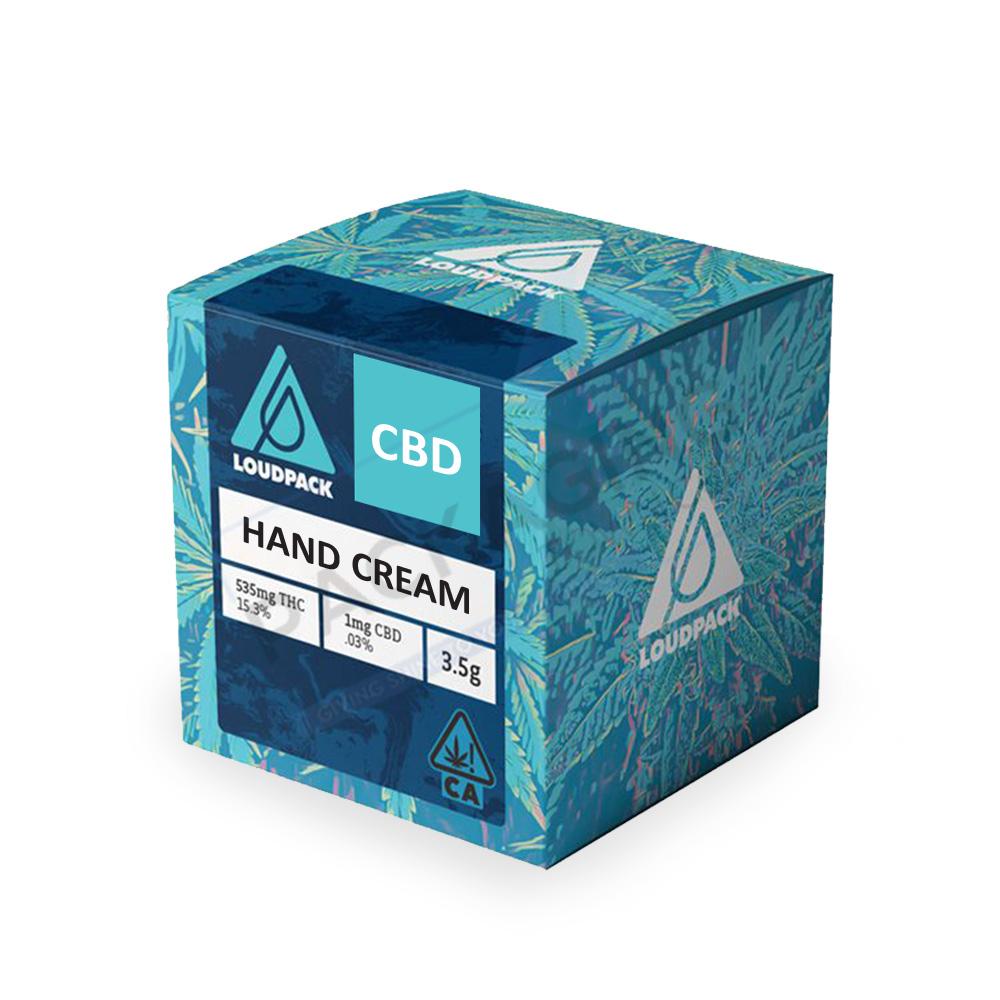 CBD Hand Cream Boxes | Custom CBD Hand Cream Boxes | Cream Boxes